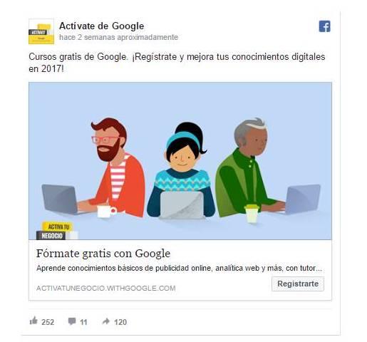 google-activate-rrss